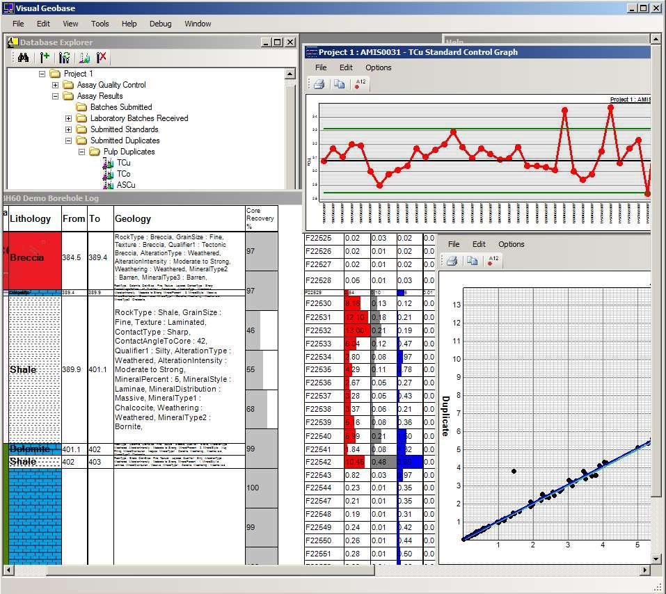 Visual Geobase Application